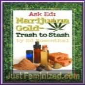 Marijuana gold Trash to Stash Hash making guide book
